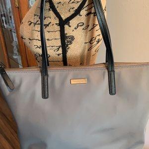 Kate Spade gray nylon bag